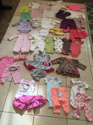baby clothes for new born girl for Sale in City of Industry, CA