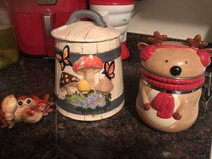 Knick Knacks and cookie jars.. See prices below for Sale in NORTH PRINCE GEORGE, VA