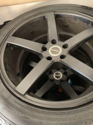 "20"" rims with brand new falken tires for Sale in San Bernardino, CA"