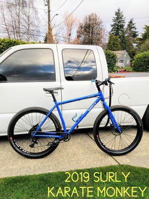 "2019 SURLY large ★ KARATE MONKEY 27.5"" wheels ★ MOUNTAIN BIKE for Sale in SeaTac, WA"