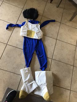Large Child Size Vegeta Costume for Sale in San Angelo,  TX