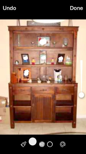 Antique country wood Cabinet, bookshelves, armoir for Sale in Miami, FL