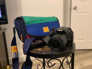 Canon DSLR camera for Sale in Phoenix, AZ