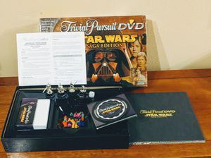 Star Wars Trivia Pursuit DVD Saga Edition 2005 board game. for Sale in Vancouver, WA