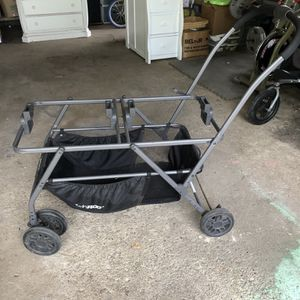 Joovy Twin Roo And Double Car Seat Stroller Frame for Sale in Libertyville, IL