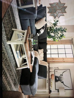 4 piece charcoal sectional sofa couch for Sale in Miami Beach, FL