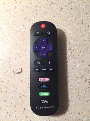 Tcl roku tv remote for Sale in La Puente, CA