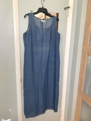Jessica Howard Long Denim Maxi Dress, 16 for Sale in Miami, FL