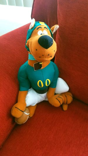 Scooby Doo Football Stuffed Doll Pre-Owned for Sale in Rosedale, MD