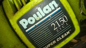 Poulan chain saw parts for Sale in Brownsville, OR