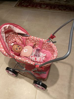 Cute kids Toy Doll and Stroller for Sale in Floral Park, NY