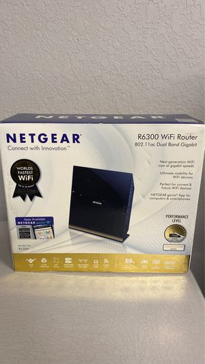 Netgear R6300 WiFi Router for Sale in Eagle Lake, FL