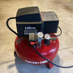 Air Compressor Porter Cable 135psi for Sale in Camas, WA