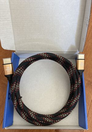 Brand New 8K HDMI Cable (HDMI 2.1) 6.5 Feet for Sale in Newark, DE