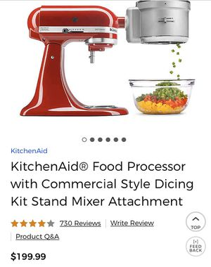 Kitchen aid chopping attachment for Sale in Kalamazoo, MI