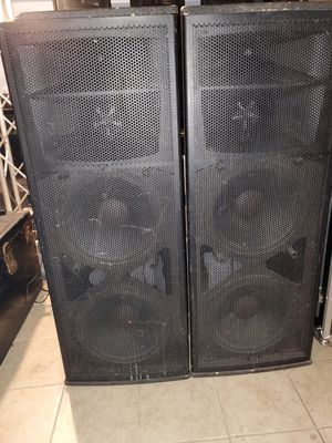 Speakers peavey sp6 for Sale in Chicago, IL
