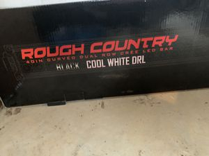 Rough Country Curved Dual Row Light Bar for Sale in Lafayette, LA