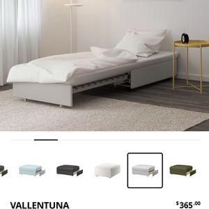 IKEA Vallentuna sleeper Chair Sofa ottoman Convertible Bed for Sale in Seattle, WA