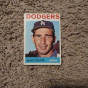 Sandy Koufax Baseball Card for Sale in Bloomington, IL