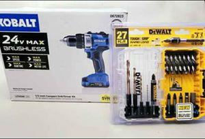 Kobalt 24v Brushless Drill for Sale in Medford, OR