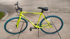 Blue and yellow bike for Sale in Cedar Hill, TX