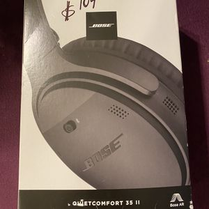 Bose Quiet Comfort 35 II Black Headphones for Sale in Avondale, AZ