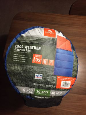 Cool weather sleeping bag for Sale in Hillsboro, OR