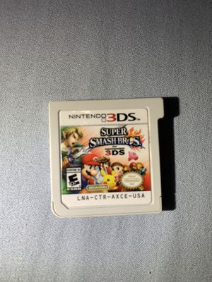 Super Smash Bros - Nintendo 3DS for Sale in Los Angeles, CA