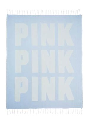 Victoria's Secret PINK BLUE BEACH TOWEL BLANKET THROW for Sale in Macomb, MI
