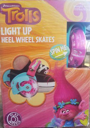 TROLLS HEEL WHEEL SKATES for Sale in Fairfax, VA
