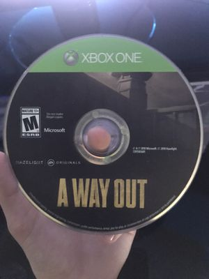 A Way Out Xbox one game for Sale in Bradenton, FL