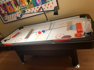 SPORTSCRAFT TURBO BOOST Air Hockey Table (orig $700) MUST GO BY TOMORROW. MAKE YOUR OFFER for Sale in Greenwich, CT