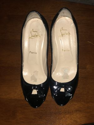 Newly restored authentic Christian Loubotin heels in size 8 women for sale for Sale in Aspen Hill, MD