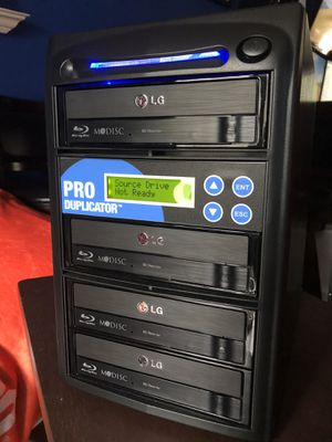 ProDuplica​tor 1-3 Blu-ray Burner Duplicator BD MDisc CD DVD for Sale in Pompano Beach, FL
