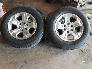Four wheels and tires for chevy silverado for Sale in Smyrna, TN