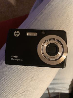 Hp touchscreen digital camera and charger for Sale in Latrobe, PA