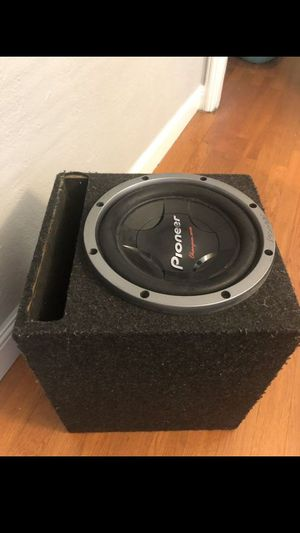 12 inch subwoofer pionner for Sale in Richmond, CA