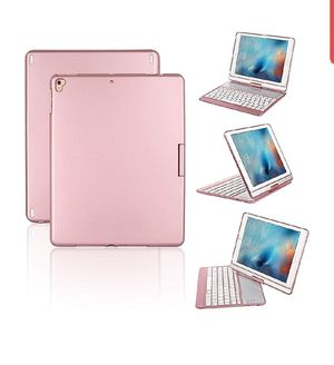 Proslife iPad Keyboard Case, 360 Degree Rotatable Cover with Wireless Keyboard, 7 Colors Backlit for Sale in San Benito, TX