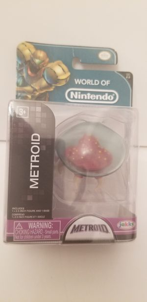 """World of Nintendo Metroid 2.5"""" Figure - BRAND NEW!! for Sale in Milton, PA"""
