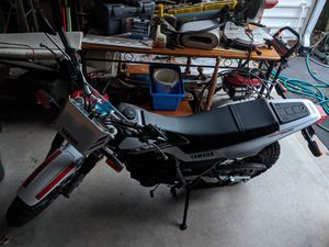 Yamaha TW 200... 2017... Low miles... Looks and runs but it needs a slight idle or some type of adjustment it seems... for Sale in New Market, MD