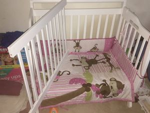 Baby 2in1 Bed/Crib Set for Sale in Greenbelt, MD