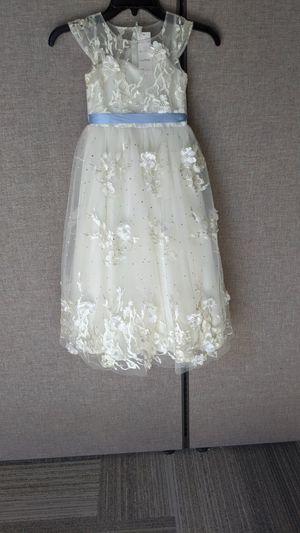 FLOWER GIRL DRESS-IVORY-6 for Sale in Leander, TX