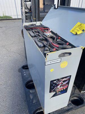 24 volt forklift battery for Sale in Fremont, CA