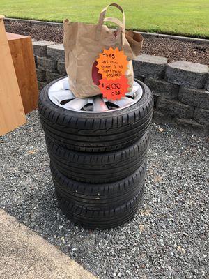 Mini Cooper full set of run flat tires and rims for Sale in Tacoma, WA