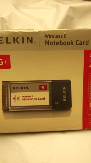 Wireless notebook card for Sale in East Saint Louis, IL