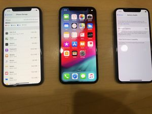 IPHONE X 64GB FACTORY UNLOCKED EXCELLENT CONDITION for Sale in Cambridge, MA
