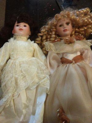 Porcelain dolls for Sale in Holdenville, OK
