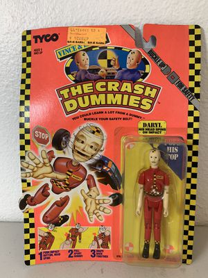 Crash Test Dummies Daryl 1991 Action Figure for Sale in Hillsboro, OR