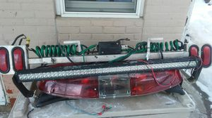 Cherries, 6 foot light bar, portable tow lights for Sale in Alma, WI