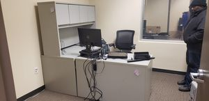 Complete office desk in 3 pieces with drawers, just ready to use, with more view for Sale in Rockville, MD